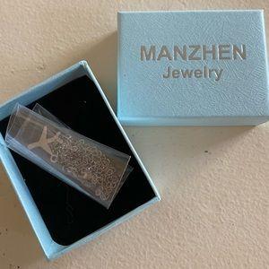 Brand NEW Manzhen Jewelry Airplane Necklace
